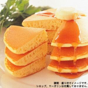 【マリンフード】 業務用 ジャンボホットケーキ 1袋(2枚入り) (パンケーキ)【冷凍食品】【re_26】【】