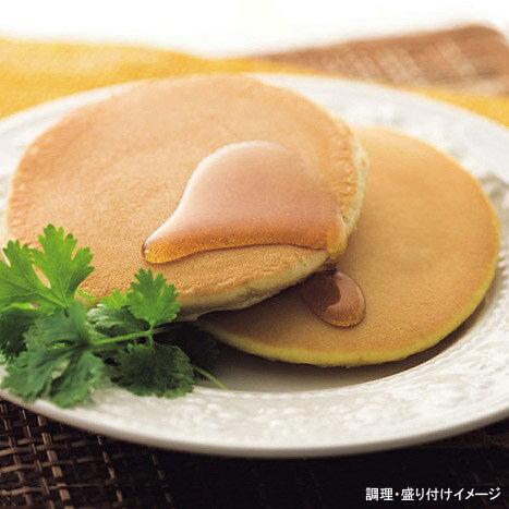 【マリンフード】 銅板焼ホットケーキ 1袋(2枚入り) (メープル入りシロップ付きパンケーキ)【冷凍食品】【re_26】【ポイント5倍】