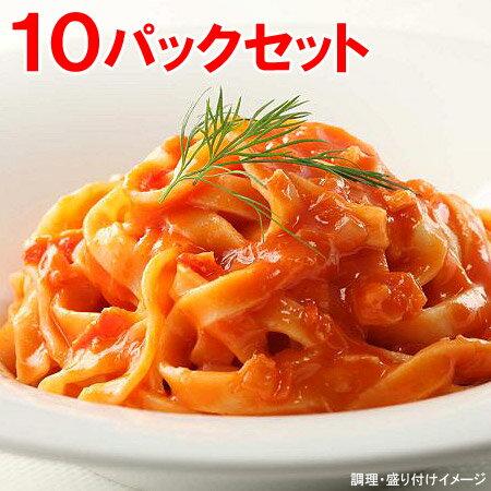 【ヤヨイ】【Oliveto】【生パスタ】 業務用 生パスタ・蟹のトマトソース 10パックセット【オリベート】冷凍食品【re_26】【ポイント5倍】