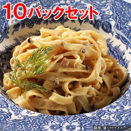 【ヤヨイ】【Oliveto】【生パスタ】 業務用 生パスタ・きのこクリーム 10パックセット【オリベート】冷凍食品【re_26】【】