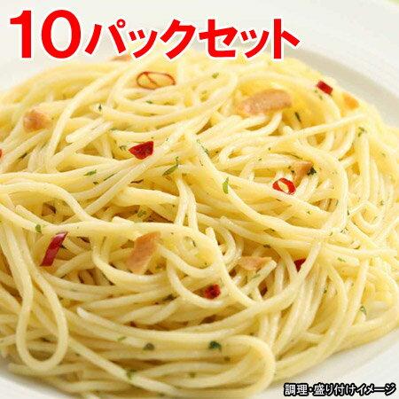 【ヤヨイ】【Oliveto】 業務用スパゲティ・ペペロンチーノ 10パックセット (オリベート パスタ 冷凍食品 スパゲティー)【re_26】【ポイント5倍】