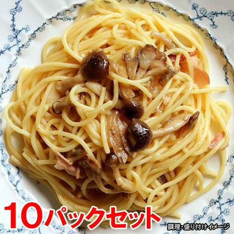 【ヤヨイ】【Oliveto】 業務用スパゲティ・醤油きのこ 10パックセット (オリベート パスタ 冷凍食品 スパゲティー)【re_26】【】