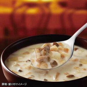 【訳あり在庫処分!】【SSK】シェフズリザーブ レンジでおいしい!ごちそうスープ「3種のきのことチーズのポタージュ」1人前(150g)(電子レンジ調理対応)(スープ)(きのこのポタージ