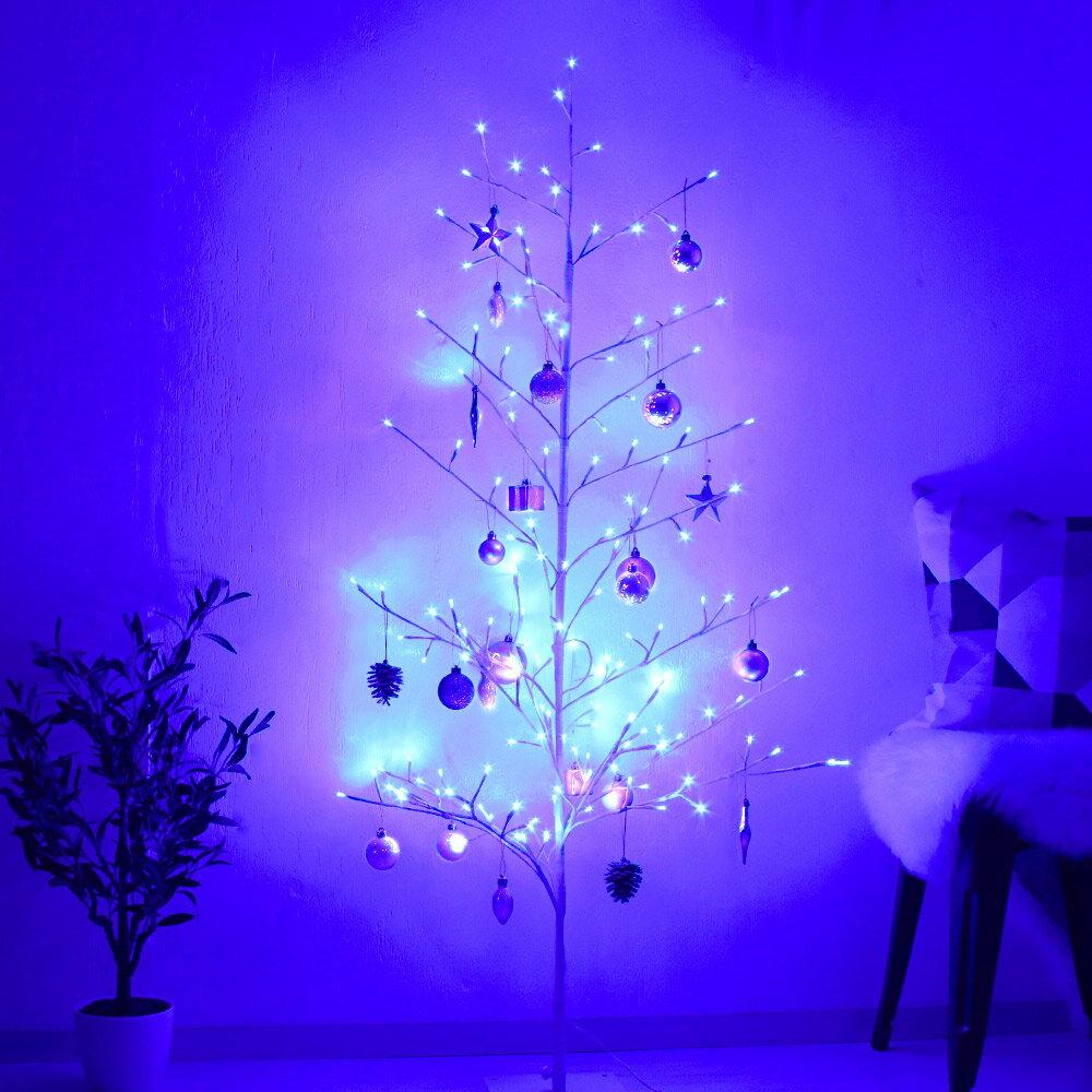 【12/25まで在庫がある限り、ずっとポイント20倍!!】LED イルミネーション ツリー 180cm   おしゃれ 屋外 ホワイト インテリア ブランチツリー クリスマスツリー ブランチ 2Dツリー オーナメント モチーフライト クリスマス イルミネー