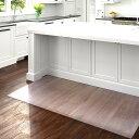 クリア キッチンマット 91cm×240cm|マット キッチン フローリング 傷防止 クリアマット 台所 キッチン用品 キッチン…