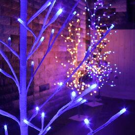 LED イルミネーション ツリー 120cm | おしゃれ 屋外 ブランチツリー 室内 クリスマス オーナメント ブランチ ホワイト クリスマスツリー 2Dツリー ホワイトツリー 飾り 屋内 イルミネーションライト 飾り付け ledツリー 外 庭 ガーデン ベランダ イルミネーションツリー