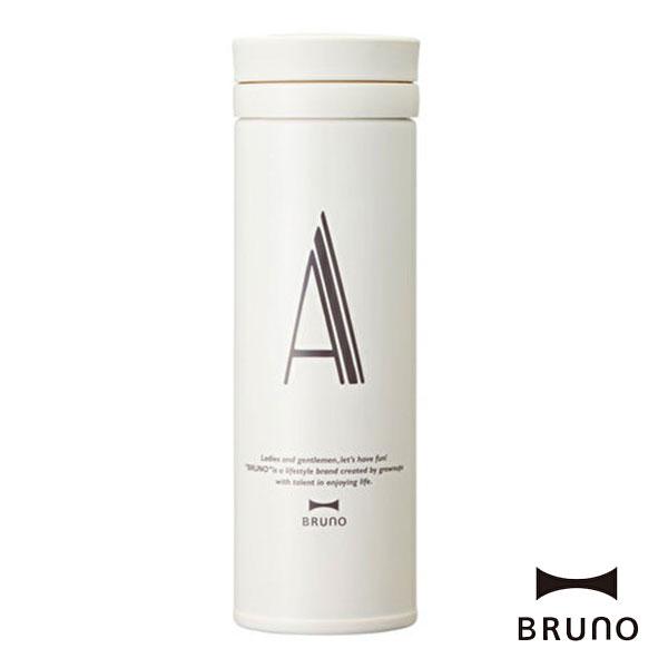 ブルーノ BHK074-A アルファベットタンブラー スリム A