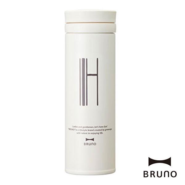 ブルーノ BHK074-H アルファベットタンブラー スリム H