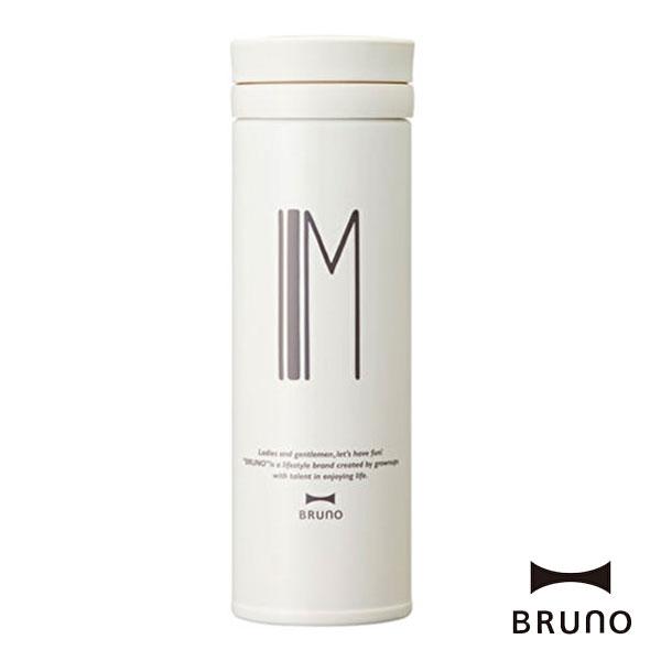 ブルーノ BHK074-M アルファベットタンブラー スリム M