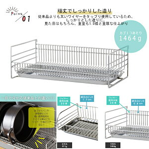 水切り突っ張り水切りラックシンク収納ステンレス流し収納水切りトレーつっぱり箸置き布巾かけまな板立て日本製