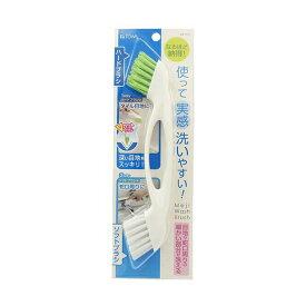 東和産業 東和産業 浴室洗い 持ちやすい 目地洗い ブラシ【メール便】