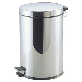 パール金属 ゴミ箱 ペダル カリス2 ステンレス製ペダルペール20L (H-2286) 業務用 家庭用兼用