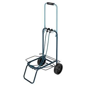 パール金属 キャリーカート 折りたたみ式 ツートンキャリー 耐荷重30kg ネイビー×ブルー
