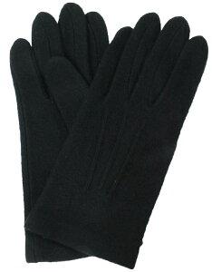 イチーナ 【紳士用手袋】 アクリル ジャージ ブラック (3101) 【メール便】