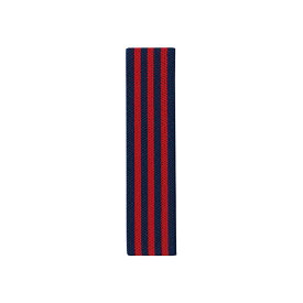 竹中 ランチベルト ストライプ レッド 30mm巾(T-56407) 【メール便】
