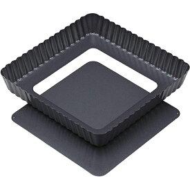 貝印 ケーキ型 正方形 タルト型 18cm 底取れ式 Kai House Select DL-6139