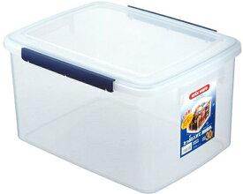 アスベル 保存容器 深型 キッチンボックス ウィル 30L NF-65 ( 30l 30リットル 透明 保存 保管 容器 パッキン フタ 蓋 ふた 角型 角 収納 キッチン 食品 乾物 小麦粉 米 衣類 ペットフード 餌 キャンプ アウトドア )