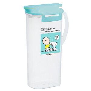 岩崎工業 冷水筒 麦茶ポット スヌーピー・ワンプッシュ ミント 2.0L K-1266SM