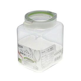 【岩崎工業】保存容器 キーポット 1.6 WG A-1083 容量1600ml