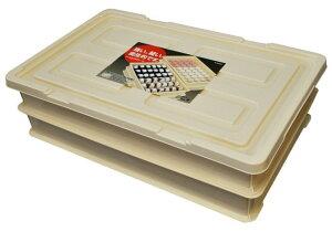 新輝合成 トンボ フードコンテナー小セット 日本製 アイボリー 10.6L ( 業務用 フタ付き 蓋付き ふた付き ふた 餅 餅用 保存 容器 ピザ 生地 パン 発酵 うどん 麺 ケーキ 飲食店 ベーカリー 持
