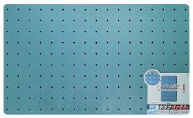 オーエ 防カビ お風呂 すのこ 風呂 ラバー フロウ ロング 60×100cm 滑りにくい! ブルー 業務用 家庭用兼用