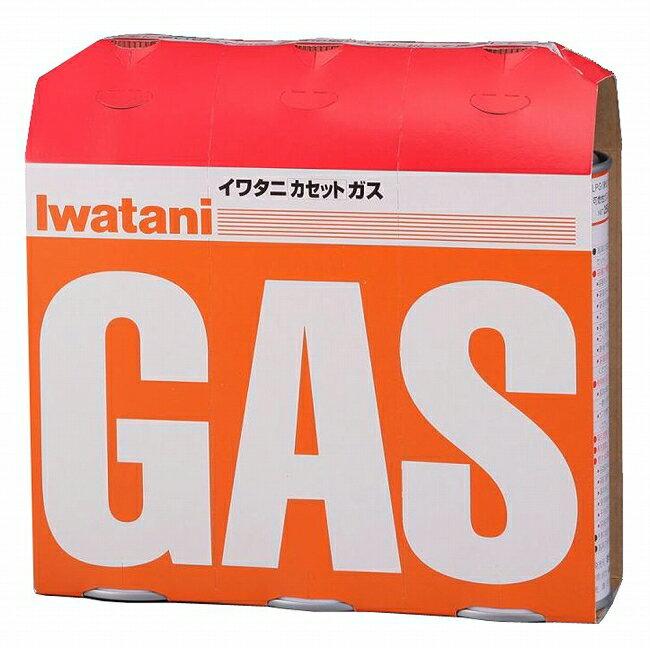 【岩谷産業】 災害時に イワタニ カセットガス オレンジ 3本組(CB-250-OR)