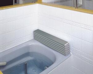 ケィ・マック Ag折りたたみ風呂ふた L11(75×110cm用) メタリックグレー