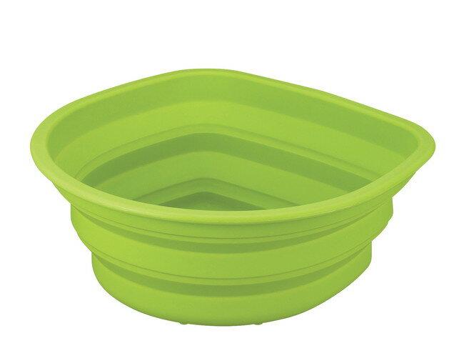 【アスベル株式会社(ASVEL)】 ポゼ シリコン洗い桶(4942) グリーン