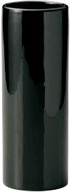 【ケー・イー・アイ】GREEN HOUSE Monochrome Flower Vase フラワーベース 花瓶 (φ10.5×30cm) ブラック(001-A/BK)
