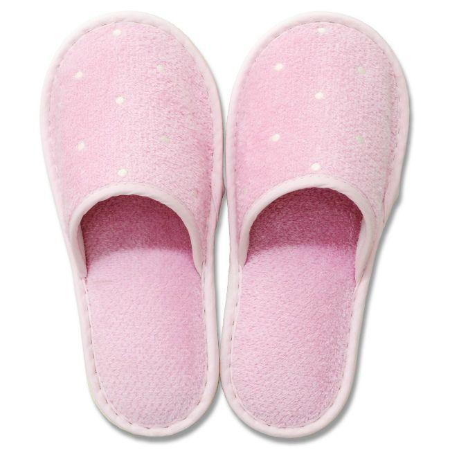 【お取り寄せ可能】【オカ】 【洗える】 ピュアコロン スリッパ (足のサイズ約24cmまで) ピンク ピンク