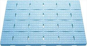 ケィ・マック お風呂すのこ 軽~いソフトすのこ 85×60cm ブルー SKB-6085