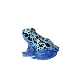 【マグネット】レプティスマグ ブルーポイズンダートフロッグ (コバルトヤドクガエル) 2.5×4×3cm