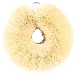 亀の子束子西尾商店 亀の子 掃除洗濯用たわし 白いたわし サイザル麻 (小) 10046110