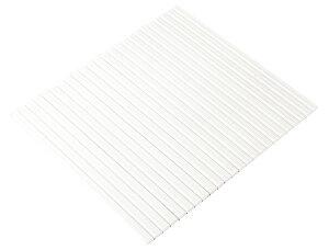 ケィ・マック シャッター風呂ふた L11(75×110cm用) ホワイト