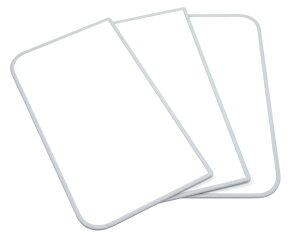 ケィ・マック 風呂ふた 抗菌タイプ 組み合わせ式風呂ふた センセーション(3枚割) 68×118cm ホワイト
