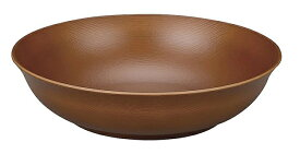 宮本産業 皿 ウッディ 深皿 小 ライトブラウン φ16×4cm