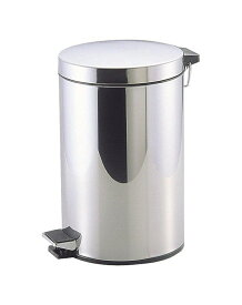 パール金属 ゴミ箱 ペダル カリス2 ステンレス製ペダルペール12L (H-2285)
