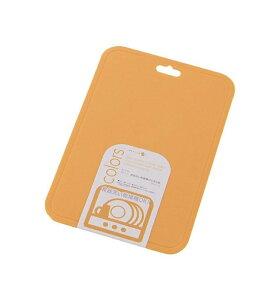 【パール金属】 カラーズ 食器洗い乾燥機対応 まな板 【日本製】 オレンジ(C-347)