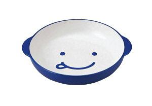 竹中 プレート 皿 キッズ カレー パスタ ブルー ノーティ 17.3×19.5×3.8 (T-46526)
