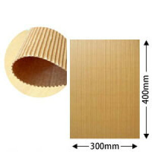 片面パットダンボール(クラフト/約2mm厚)約30cm×40cm 300枚セット【送料区分1】