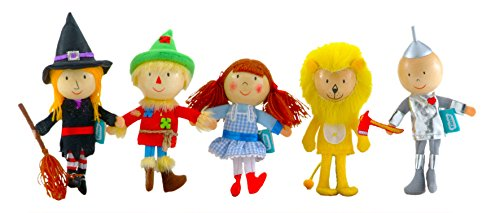 【Wizard of Oz finger puppet set】 b000w9pyv4
