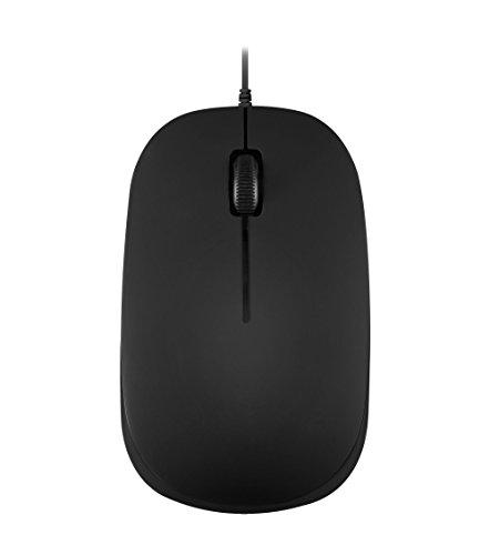 【送料無料】【ぺリックス PERIMICE-201 II 有線 PS2 光学式 マウス 3ボタン 1000DPI PS2接続 ケーブル1.8M 黒】