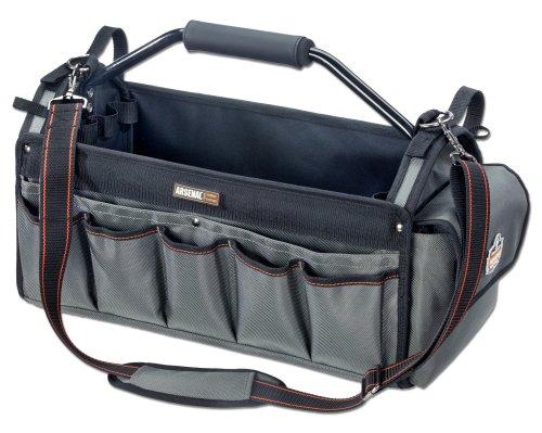 【送料無料】【アーゴダイン 工具用カバン(鞄) 32ポケット グレー (5845)】 b001ayar76