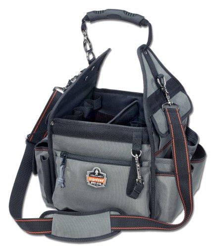 【送料無料】【アーゴダイン 工具用カバン(鞄) 電気工事士向けツールバッグ グレー ワンサイズ 5840】 b001ayar6w