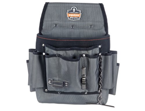 【送料無料】【アーゴダイン 電気工事士用 ツールバッグ (腰袋)  グレー ワンサイズ 5548 電工腰袋】 b001aygf9u