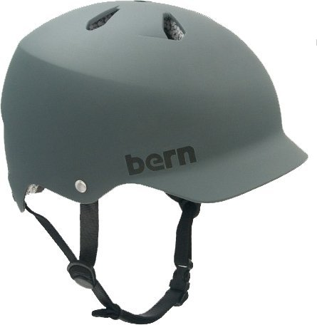 【送料無料】【Bern Watts Matte Grey [Large] Skateboard Helmet by Bern】 b005imabtu