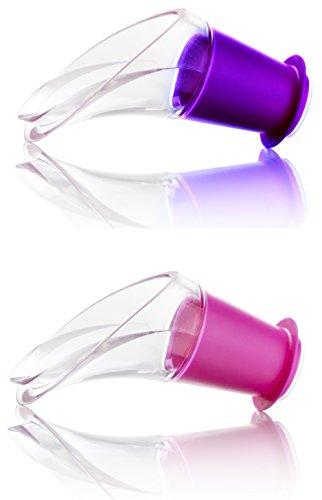 【送料無料】【バキュバン ワインサーバー ピンク・パープル(各1ヶ入)】 b008enu2xa