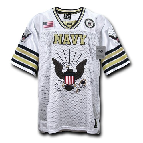 【送料無料】【Rapid Dominance R11-NAV-WHT-03 Football Jerseys #44; Navy #44; White #44; Large】 b008ynb284