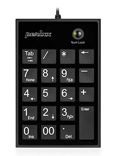 【送料無料】【ぺリックス PERIPAD-202HB ノートパソコン用テンキーボード - Tabキー付 - USBハブ2個付き - 大きなプリント数字 - パンタグラフキー採用 - ブラック】 b00gaydvb0