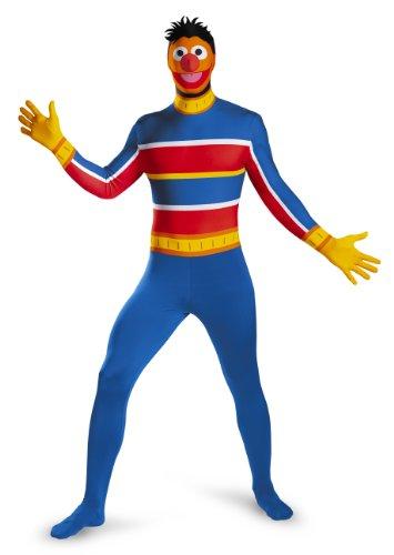 【送料無料】【Disguise DI76941_XL Ernie Bodysuit Costume For Adults X-Large】